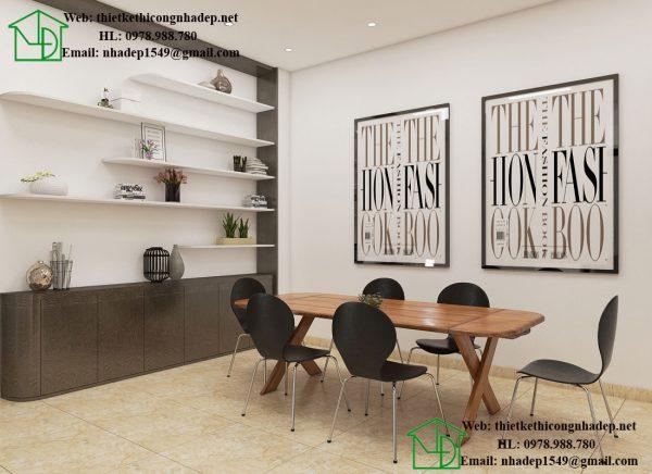 Thiết kế nội thất phòng bếp đẹp NDNTPK3