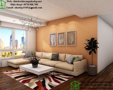 Sofa phòng khách chung cư đẹp NDNTCC7