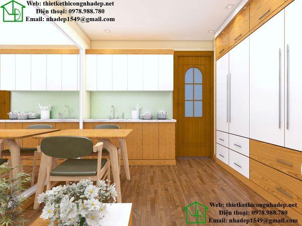 Thiết kế nội thất chung cư mini 15m2 nhỏ gọn và tiện nghi