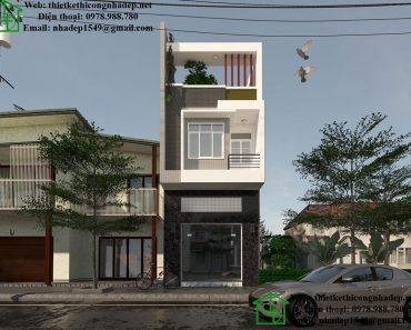 Thiết kế nhà vừa ở vừa buôn bán NDNP3T11