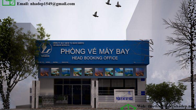 Thiết kế phòng vé máy bay Vasco tại Hà Nội NDTKS7