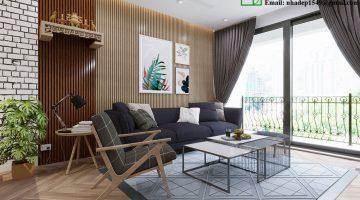 Thiết kế nhà chung cư, nội thất chung cư cao cấp NDNTCC10