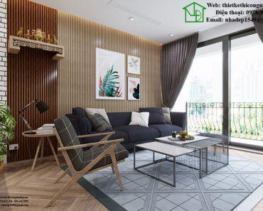 Nội thất phòng khách chung cư NDNTCC10