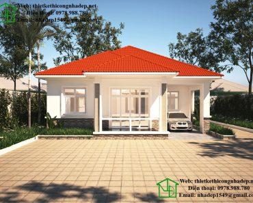 Thiết kế nhà vườn đẹp NDBT1T37