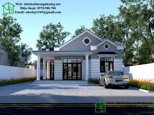 Thiết kế nhà vườn đẹp NDNC449