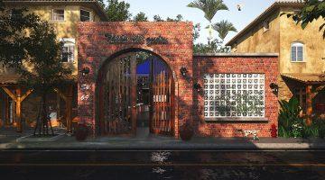 Thiết kế quán cafe sân vườn, quán cafe sân vườn đẹp tại Vũng Tàu NDCF7