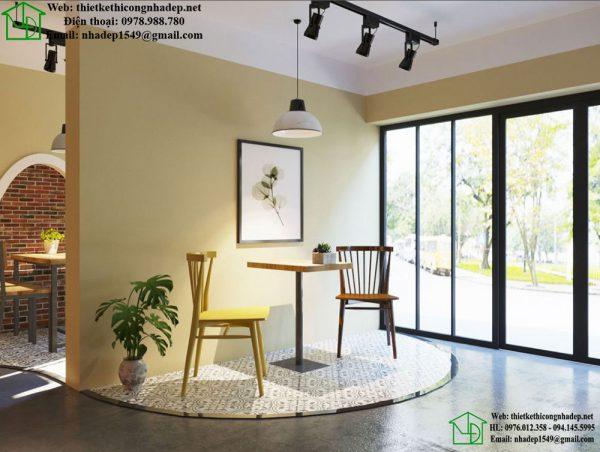 Bàn ghế cafe đẹp NDCF78