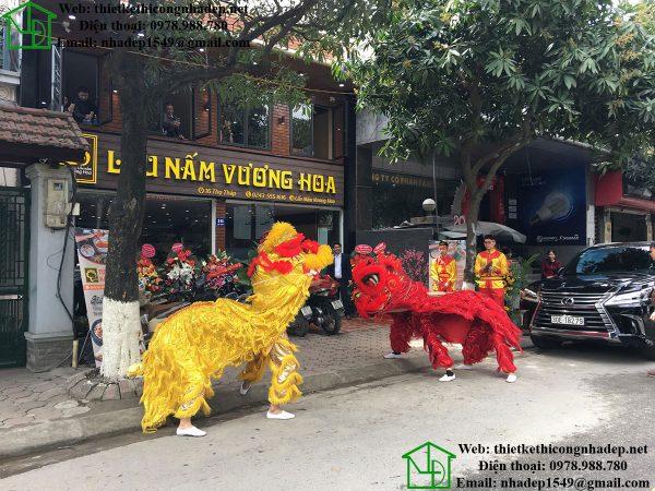 Hình ảnh thực tế nhà hàng lẩu nấm vương hoa NDNH1