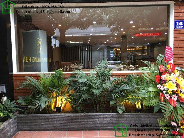 Mặt tiền nhà hàng lẩu nấm NDNH1