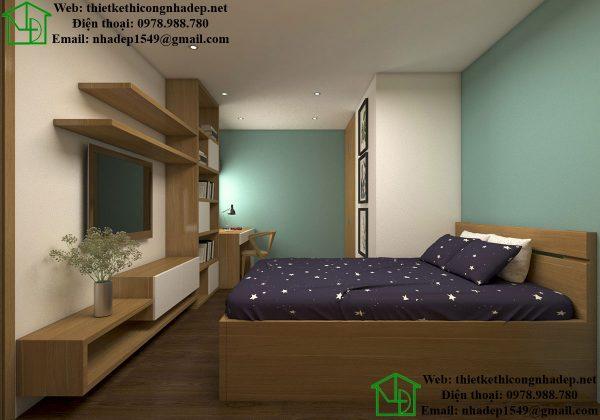 Phòng ngủ 2 chung cư cao cấp NDNTCC11