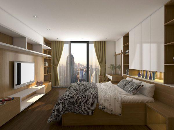 Phòng ngủ master chung cư NDNTCC11