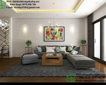 Sofa phòng khách chung cư NDNTCC11