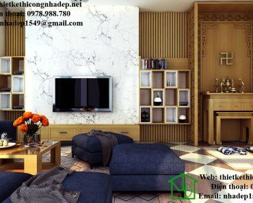 Thiết kế nội thất phòng khách NDNTPK4