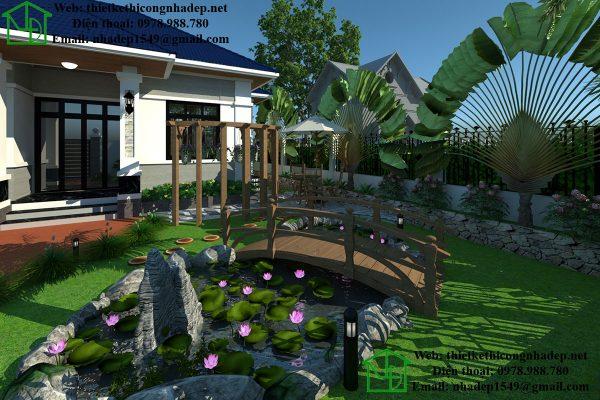 Thiết kế biệt thự nhà vườn NDTKSV1