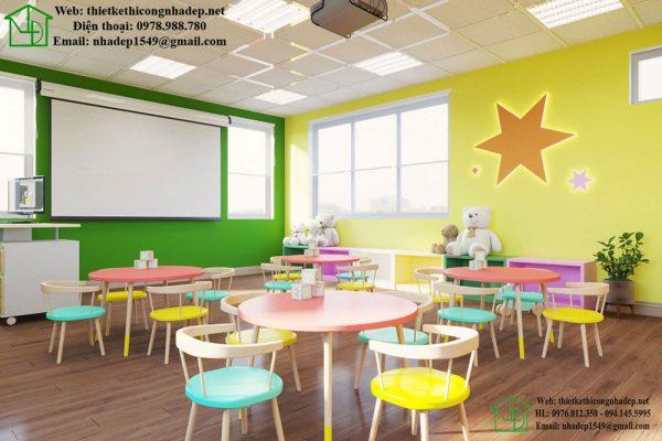 Thiết kế phòng học tiếng anh 1 NDTKS9