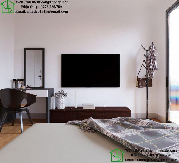Kệ tivi phòng ngủ tầng 3 NDNP5T4