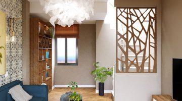 Thiết kế nội thất nhà phố, thiết kế nội thất nhà phố 5 tầng 4x6m NDNP5T4