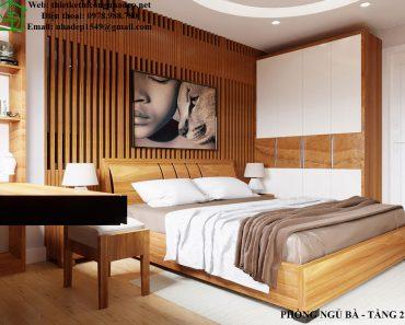 Thiết kế nội thất phòng ông bà NDNP5T4