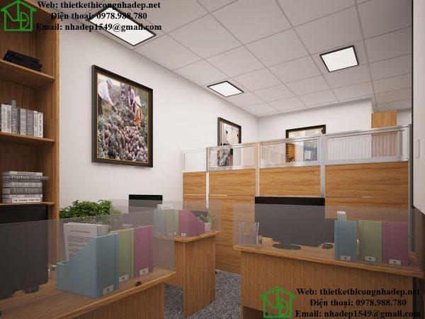Phòng làm việc cho nhân viên NDTKVP2