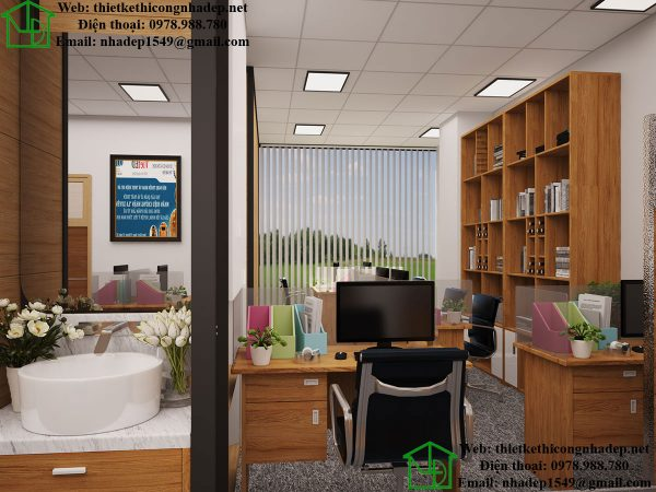 Phòng làm việc kế toán NDTKVP2