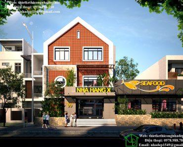 Thiết kế nhà hàng sang trọng NDNH2