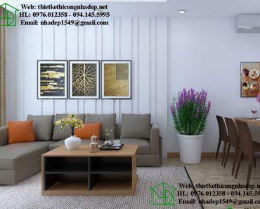 Thiết kế nội thất chung cư 789