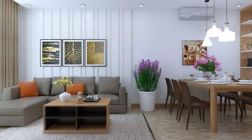 Thiết kế nội thất chung cư cư giá rẻ, thi công nội thất chung cư 789 NDNTCC12