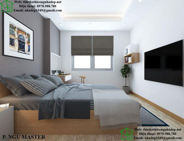 Thiết kế nội thất chung cư 2 phòng ngủ ở chung cư 789
