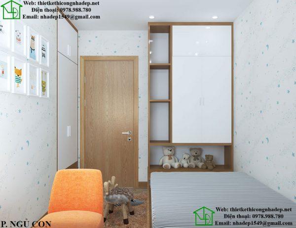 Tủ quần áo nội thất phòng ngủ NDNTCC12