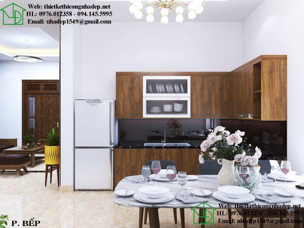 Thiết kế nội thất phòng bếp NDNTCC26
