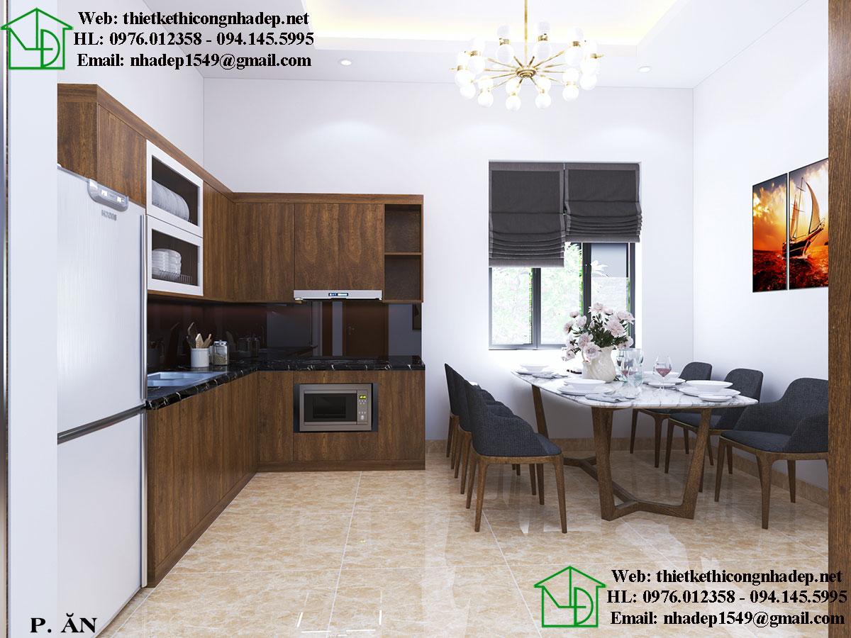 Thiết kế phòng ăn đẹp NDNTCC26
