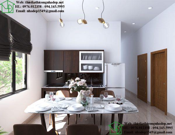 Tủ bếp nhà cấp 4 NDNTPK5