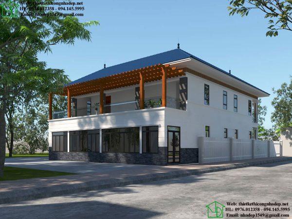Biệt thự 2 tầng hiện đại NDBT2T45