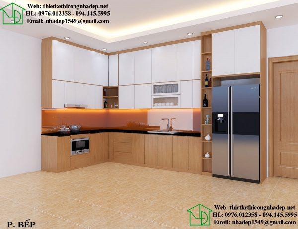 Thiết kế phòng ăn nội thất chung cư 60m2 nhỏ gọn và tiện nghi