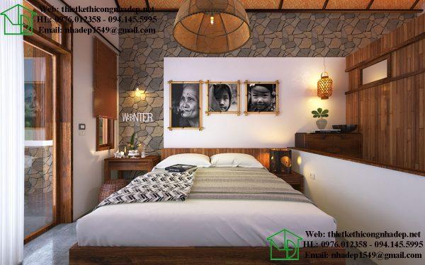 Mẫu thiết kế Bungalow sang trọng ở khu nghỉ dưỡng Sapa