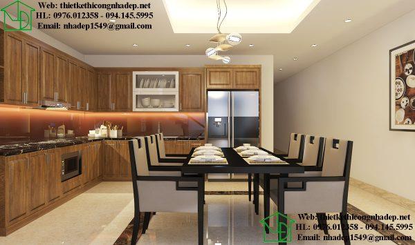 Nội thất phòng bếp nhà cấp 4 NDNC465