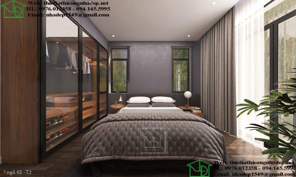 Nội thất phòng ngủ 2 tầng 2 NDNTPK7