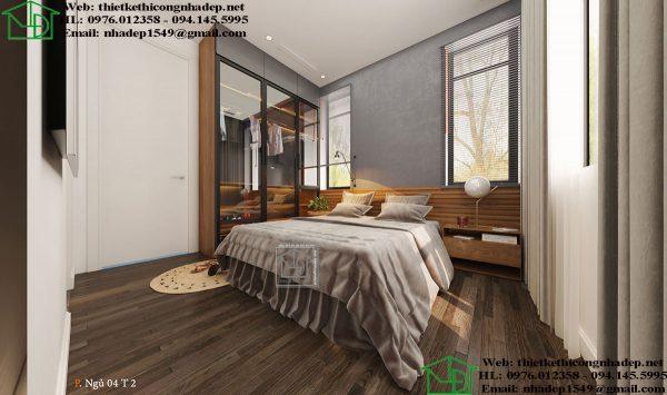 Nội thất phòng ngủ master NDNTPK7