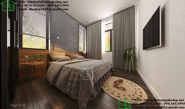 Thiết kế phòng ngủ master NDNTPK7