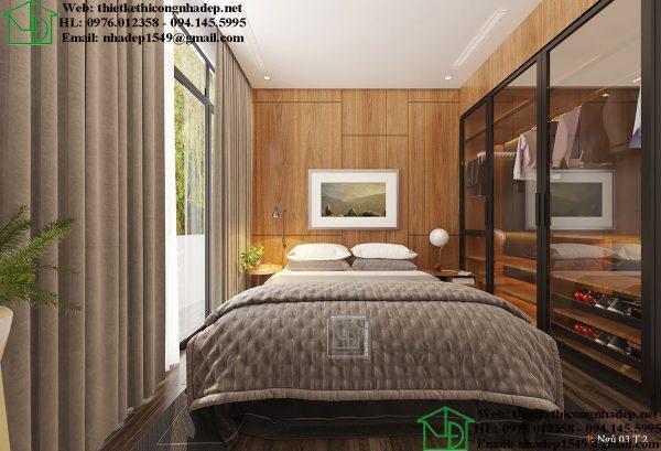 Thiết kế thi công nội thất giá rẻ NDNTPK7