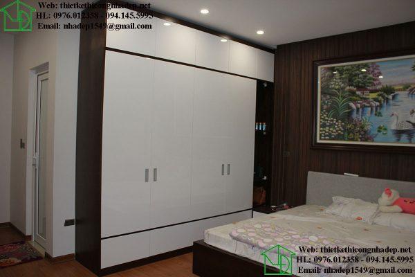 Nội thất phòng ngủ nhà phố 4 tầng NDNP4T7