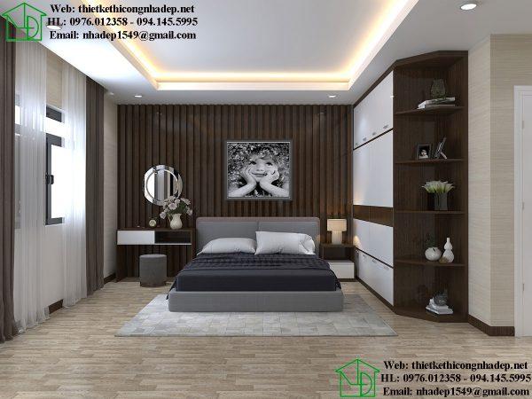 Phòng ngủ master biệt thự NDNTBT1