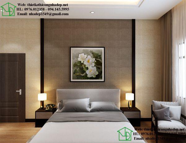 Thiết kế nội thất phòng ngủ đẹp NDNTCC36
