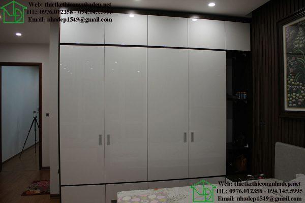 Tủ quần áo nhà phố 4 tầng NDNP4T7