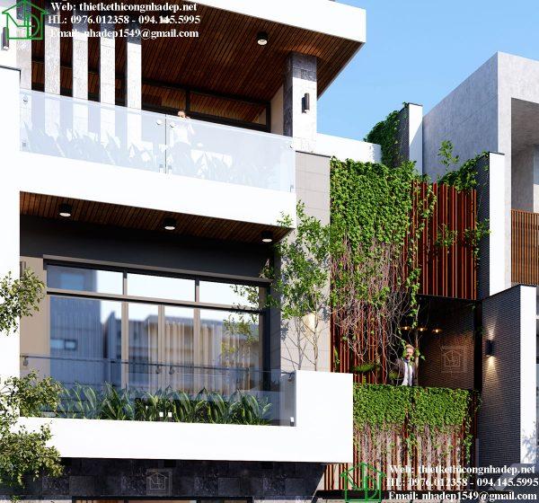 Nhà phố 4 tầng đẹp NDNP4T9