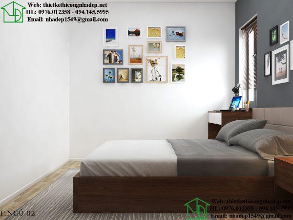 Nội thất phòng ngủ hiện đại NDTKNT5
