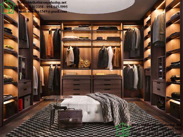 Phòng thay đồ gỗ công nghiệp NDNTPN3