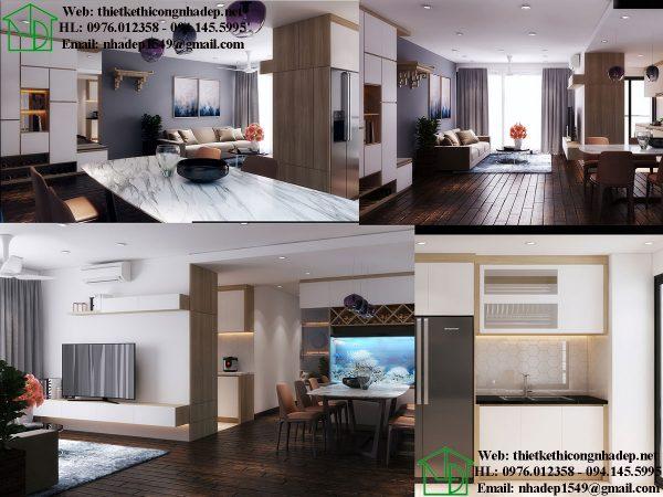 Thiết kế chung cư giá rẻ NDNTCC39