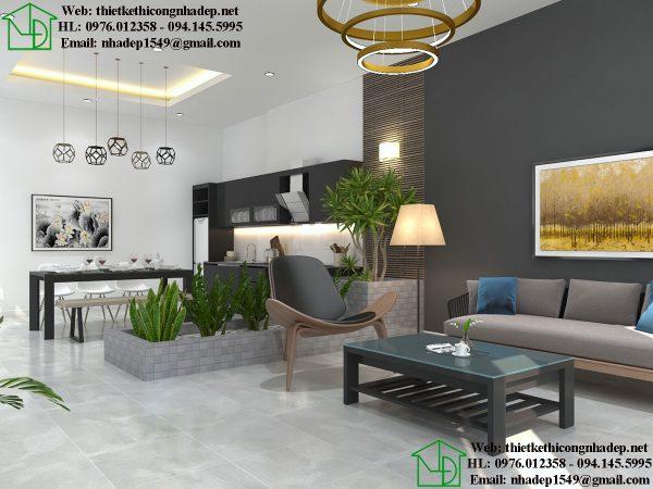 Thiết kế nội thất đẹp giá rẻ NDTKNT4