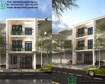 Thiết kế nhà phố 6x12m NDNP3T20